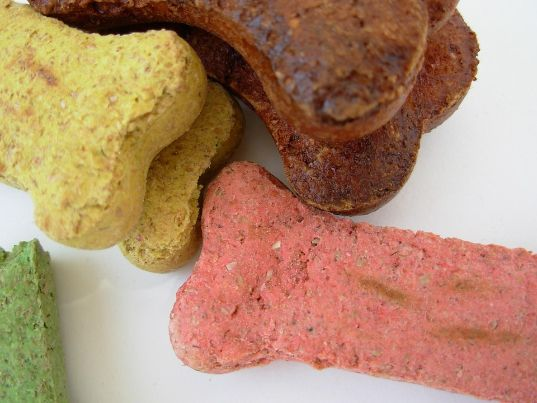 A variety of dog treat