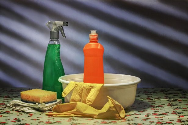 Household cleaning solutions