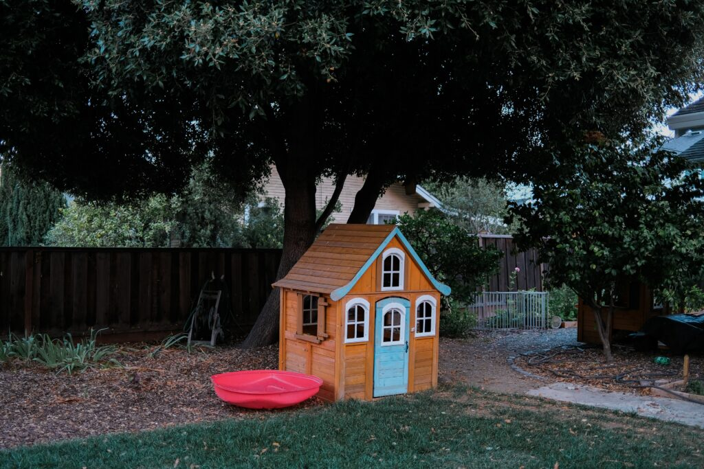 Outdoor dog houses